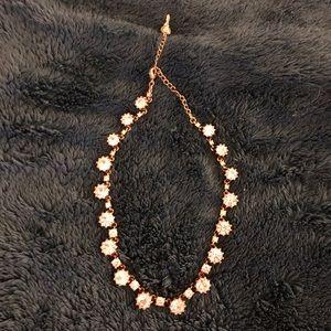 Betsy Johnson Crystal Statement Necklace
